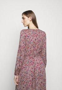 MICHAEL Michael Kors - TIERED WRAP DRESS - Day dress - dark ruby - 5