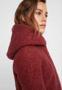 ONLY Petite - ONLSEDONA COAT - Short coat - merlot/melange - 5