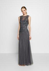 Lace & Beads - RIVIERA MAXI - Vestido de fiesta - charcoal - 0