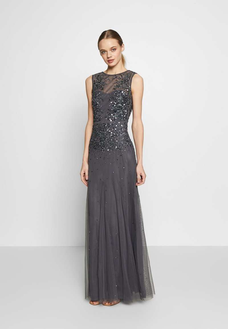 Lace & Beads - RIVIERA MAXI - Gallakjole - charcoal