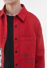 Bershka - Summer jacket - red - 3