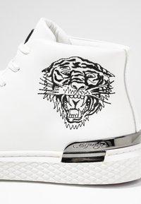 Ed Hardy - BEAST - Sneakers high - white - 5