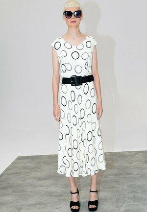 Sukienka letnia - ecru