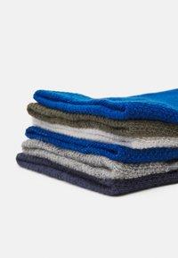 Ewers - KIDSSOCKS CROCODILE 6 PACK - Socks - tinte/oliv - 1