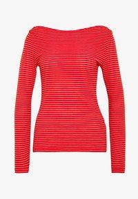 Vero Moda - VMGERI BOATNECK - Camiseta de manga larga - high risk red - 3
