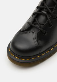 Dr. Martens - CHURCH MONKEY BOOT UNISEX - Lace-up ankle boots - black smooth - 5