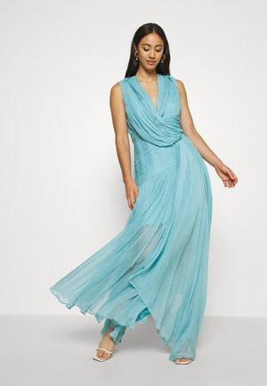 WATERFALL DRESS - Společenské šaty - blue nile