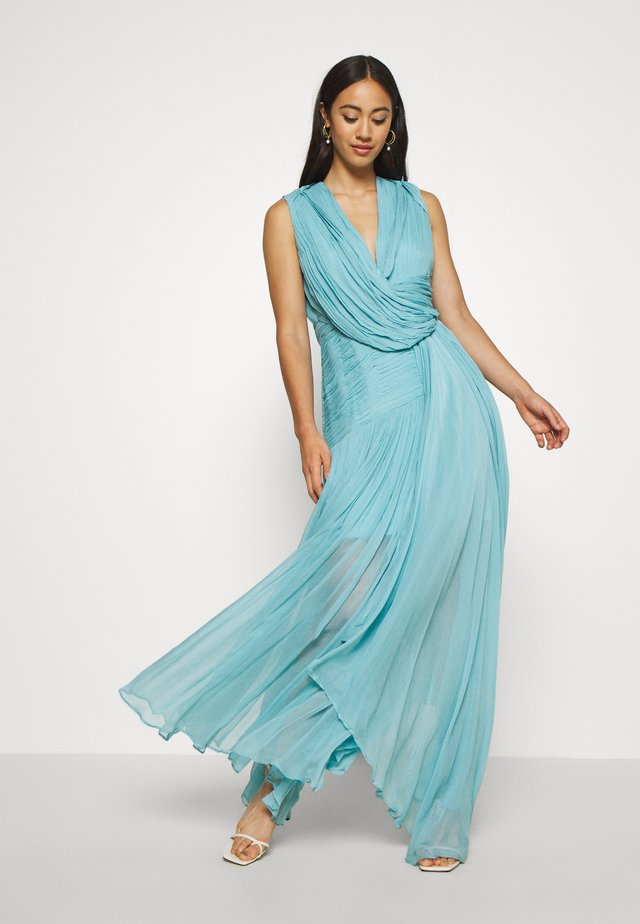 WATERFALL DRESS - Abito da sera - blue nile