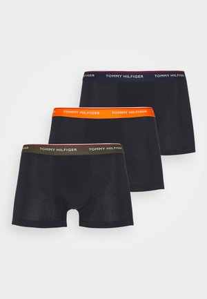TRUNK 3 PACK - Pants - army green/yale navy/orange