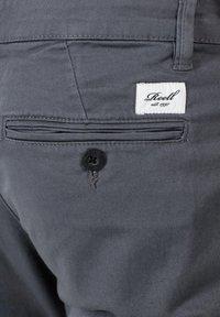 Reell - FLEX TAPERED CHINO - Trousers - dark grey - 6