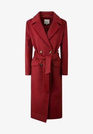 MICA - Klassischer Mantel - red