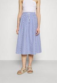 Monki - A-line skirt - blue/bright - 0