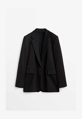 MIT EIN-KNOPF-VERSCHLUSS  - Blazer - black