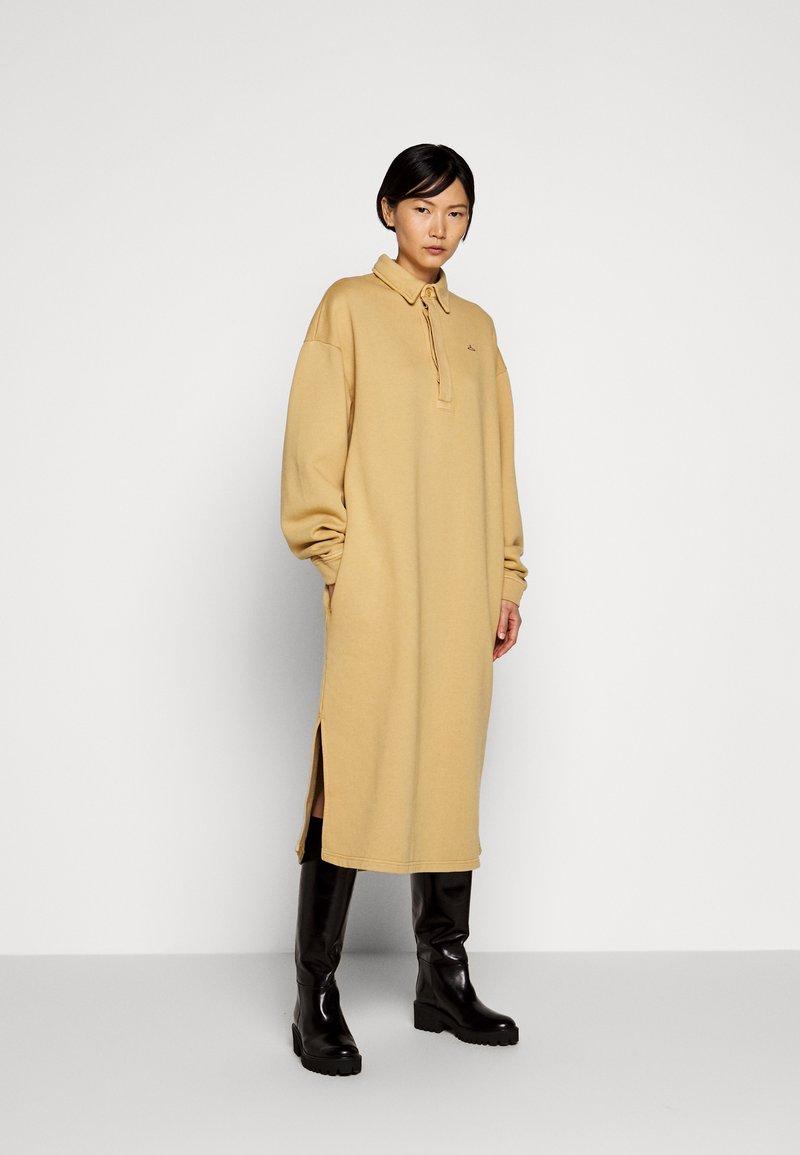 Holzweiler - BISLETT DRESS VINTAGE - Day dress - washed beige
