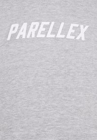 PARELLEX - LOUNGE HOOD LOUNGE TRACKSUIT SET - Collegepaita - grey marl - 7