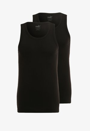 BASIC 2 PACK  - Undershirt - black
