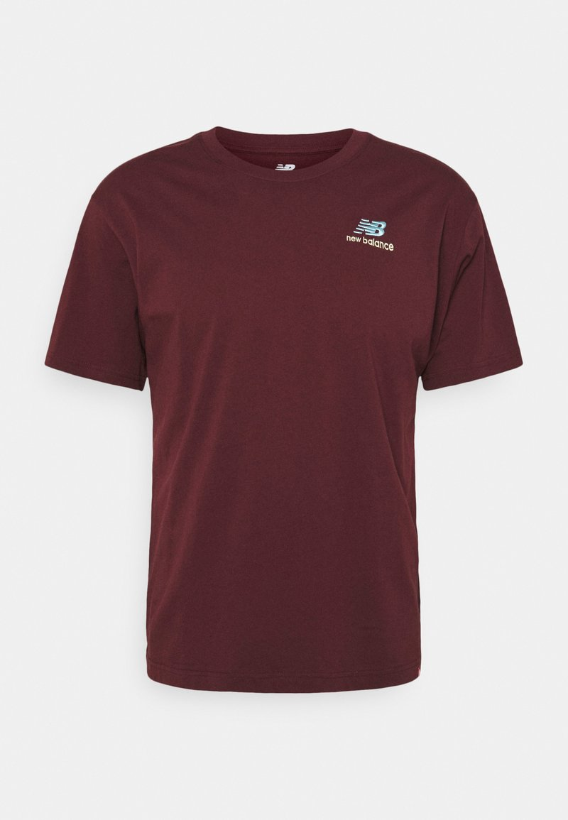 New Balance - ESSENTIALS EMBROIDERED TEE - Basic T-shirt - red