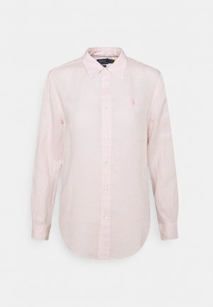 PIECE DYE - Button-down blouse - hint of pink