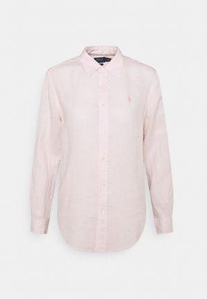 PIECE DYE - Koszula - hint of pink