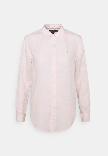 PIECE DYE - Button-down blouse - hint of pink