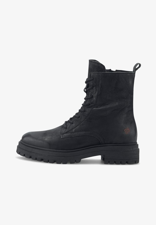 LUA - Platform ankle boots - schwarz