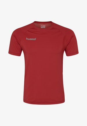 FIRST PERFORMANCE  - Print T-shirt - true red