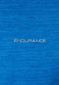 Endurance - TUNE MELANGE MIDLAYER - T-shirt de sport - directoire blue - 2