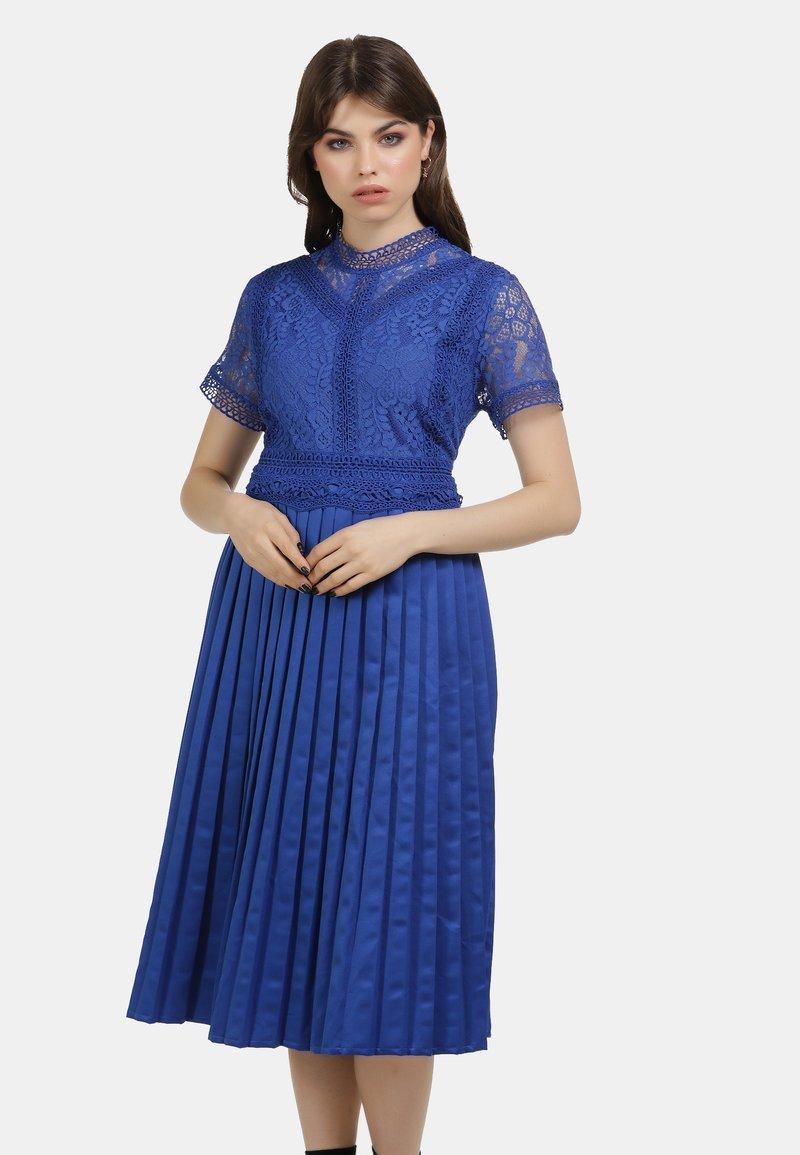 myMo ROCKS - KLEID - Vestido de cóctel - blue