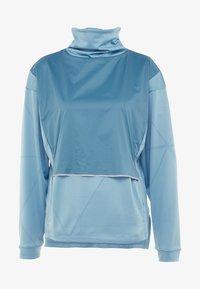 Salomon - ELEVATE AERO COZY - T-shirt à manches longues - smoke blue - 4