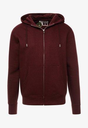 MORGAN - Zip-up hoodie - wine