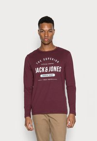 Jack & Jones - JJHERRO TEE CREW NECK - Long sleeved top - port royale - 0