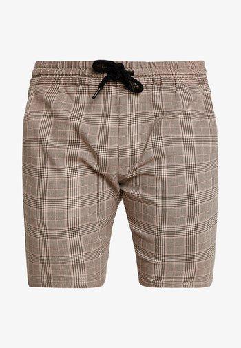 ONSLINUS CHECK  - Shorts - chincilla