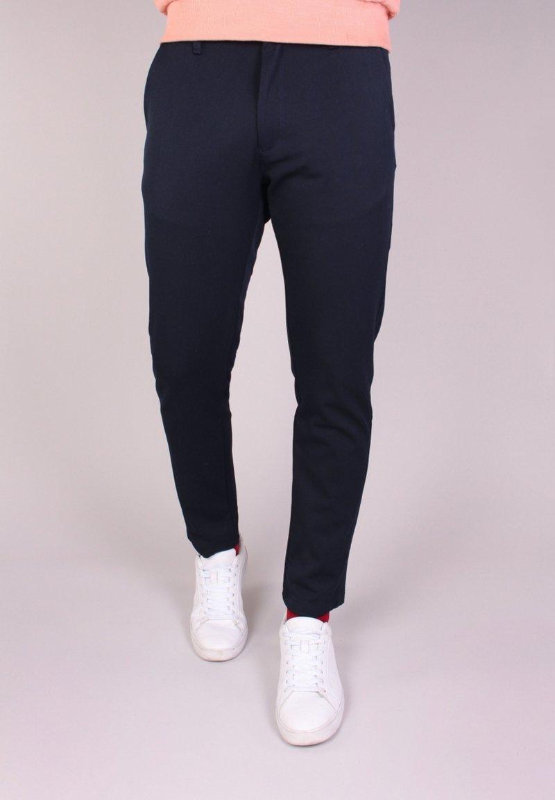 Gabbiano - Trousers - navy