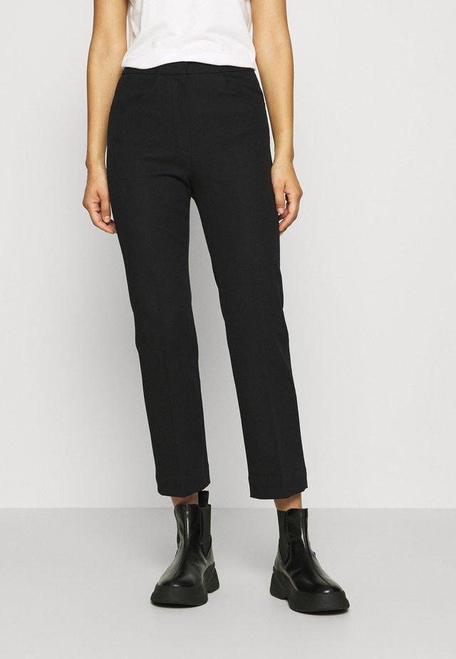 Trouser - Pantaloni - black dark