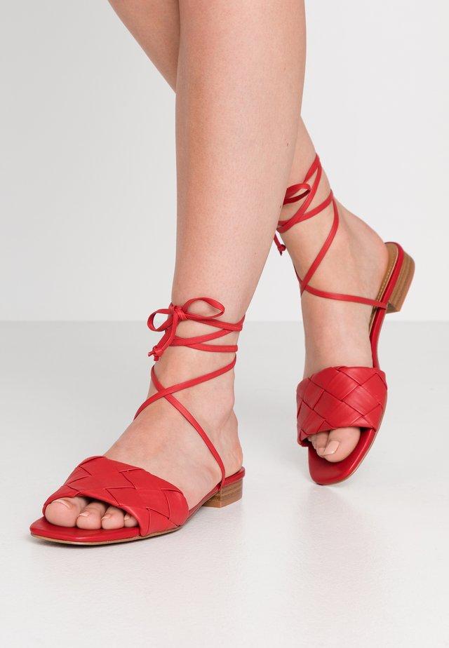 MARELENA - Sandalias - red