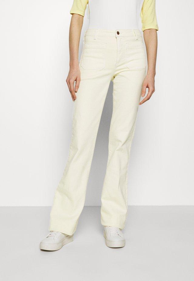 Široké džíny - yellowstone