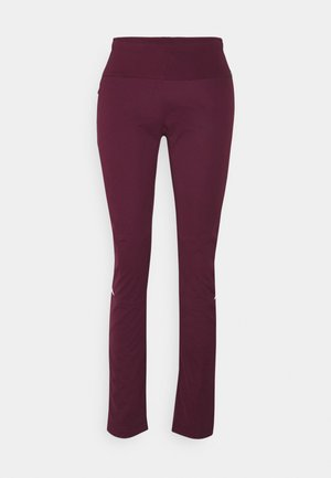 WOMENS WINTRY PANTS - Friluftsbukser - cassis