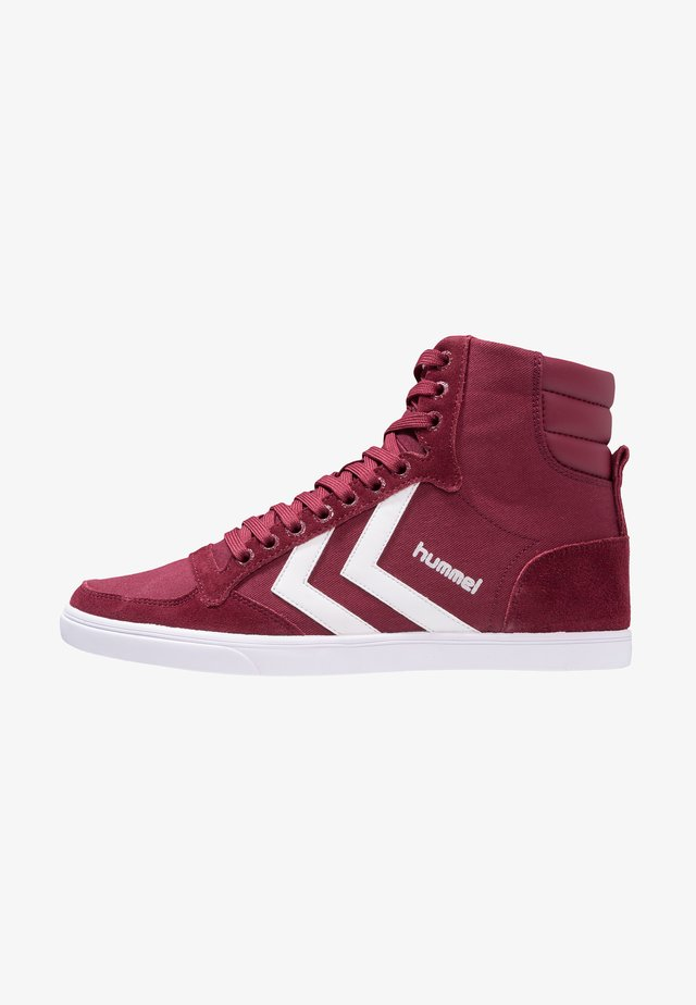 SLIMMER STADIL - Sneakers hoog - red
