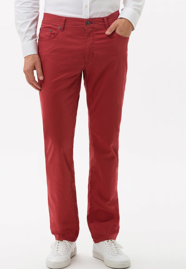 STYLE COOPER FANCY - Trousers - raspberry