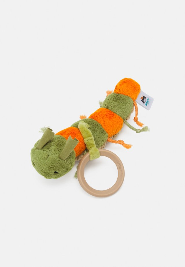 LITTLE CHRISTOPHER CATERPILLAR RATTLE UNISEX - Vauvan lelu - green