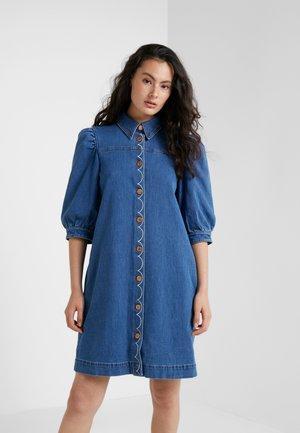 Denim dress - truly navy