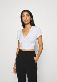 Even&Odd - T-shirt basic - white - 0