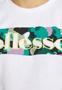 Ellesse - MORELA - Print T-shirt - white - 5