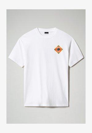 S-ALHOA - Print T-shirt - white graph l