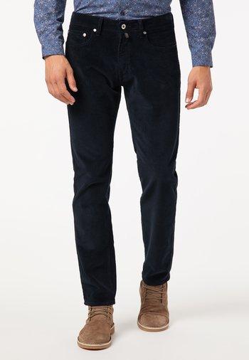MODERN FIT - Trousers - dunkelblau