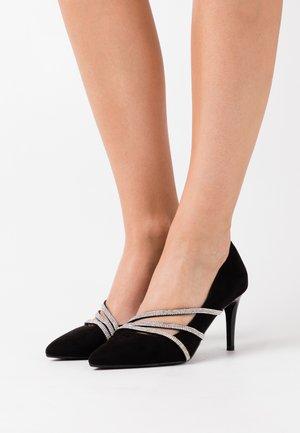 MAGNA - Zapatos altos - black