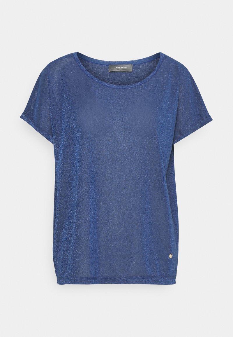 Mos Mosh - KAY TEE - Print T-shirt - true blue