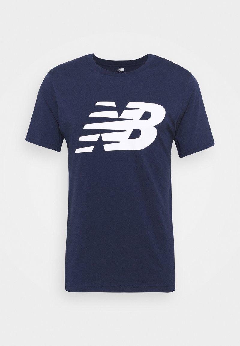 New Balance - Print T-shirt - dark blue