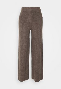 Noisy May - NMSALLY LOOSE PANT - Bukse - taupe gray - 3