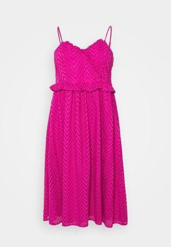 SLFKOSA STRAP DRESS - Robe d'été - rose violet